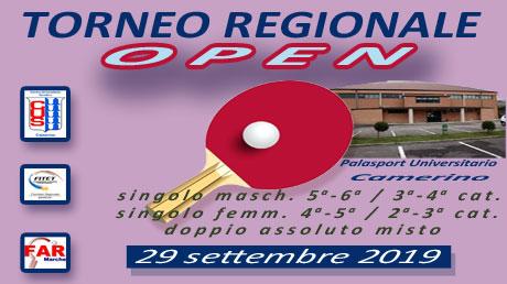 1° T.R. Open - Camerino 29.09.2019