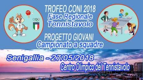 Fase regionale Trofeo Coni / 8° Camp. a squadre Progetto Giovani