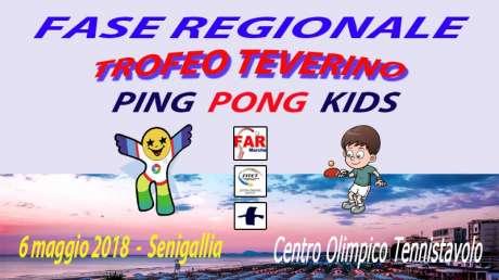 Fase Regionale Trofeo Teverino Ping Pong Kids